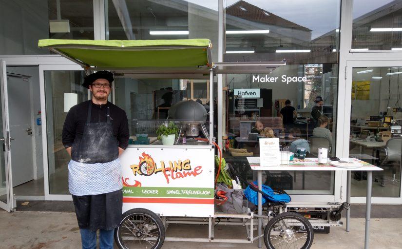 Food Bike für Pizza