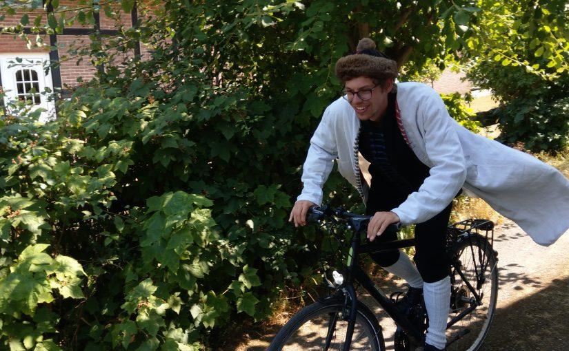 Patrick Held GreenBike-Shop Gründer auf dem Fahrrad