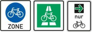 Neufassung StVO: Schilder fürs Fahrrad
