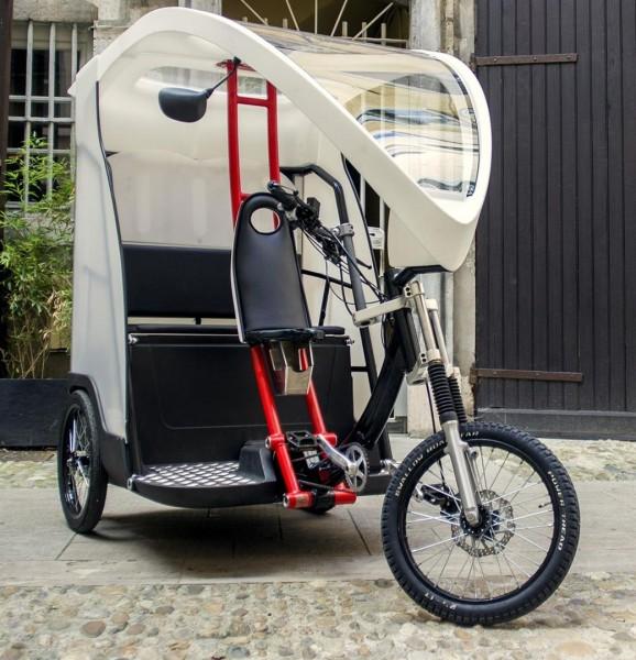 Fahrradtaxi Rikscha Yokler X