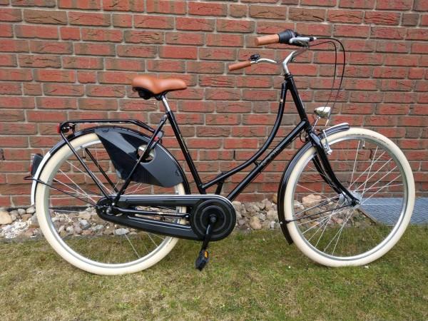 Roots Amsterdam 4.0 Premium schwarz creme 3-Gang