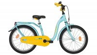 Kinderfahrrad Noxon Sugary 12 Zoll aqau blue yellow