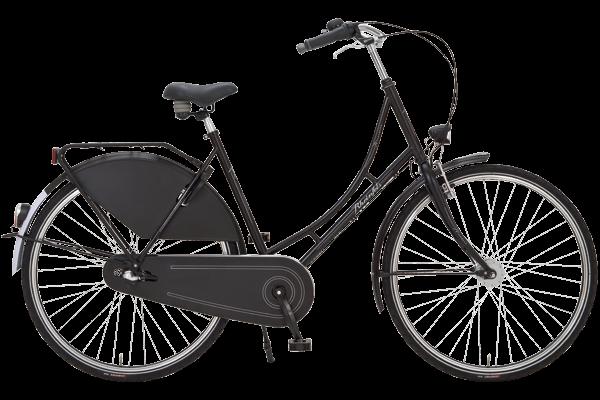 Rheinfels Eco Plus Hollandrad schwarz matt