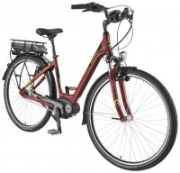 "BBF E-Bike ""Genf Plus"" Damen 7-Gang bordeaux"