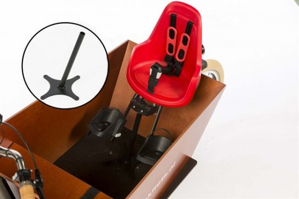 Bakfiets Adapter für Kindersitz