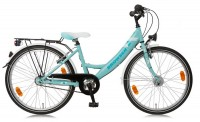 Kinderfahrrad Bachtenkirch Browser Girl 24 Zoll - 3 Gang