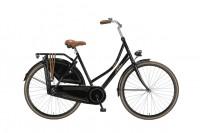 Damen Hollandrad in schwarz glänzend