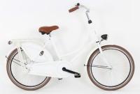 Mädchenfahrrad Hollandrad 24 Zoll Farbe Weiß
