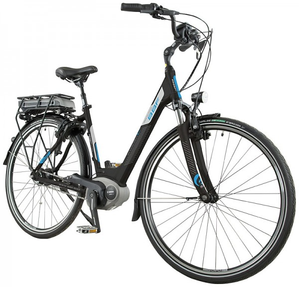 BBF E-Bike LYON Damen 7-Gang schwarz matt