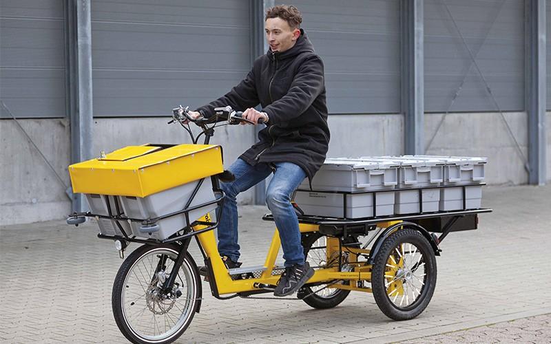 Lastenrad für Transportunternehmen