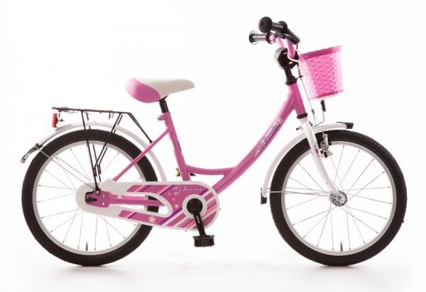Kinderfahrrad Bachtenkirch My Bonnie 18 Zoll - pink weiß