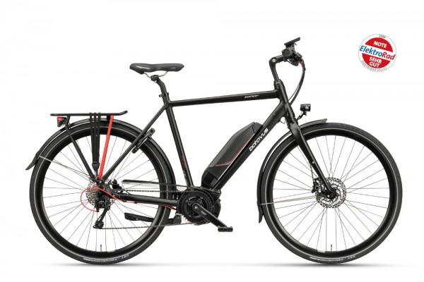 Batavus E-Bike Zonar E-go® 10-Gang schwarz matt
