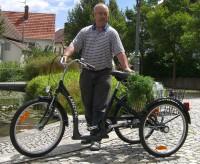 Lanztec Dreirad schwarz