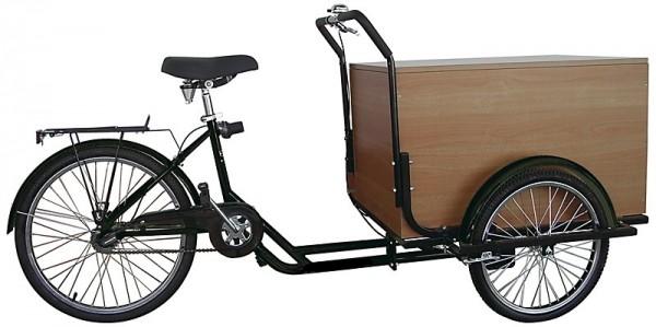 BBF Transportrad Toronto Cargobike Bakfiets 7-Gang schwarz