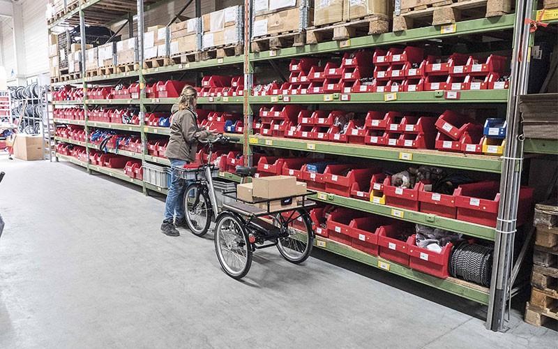 Lastenräder für die industrie