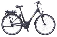 Greens E-Bike Sussex 7-Gang schwarz matt