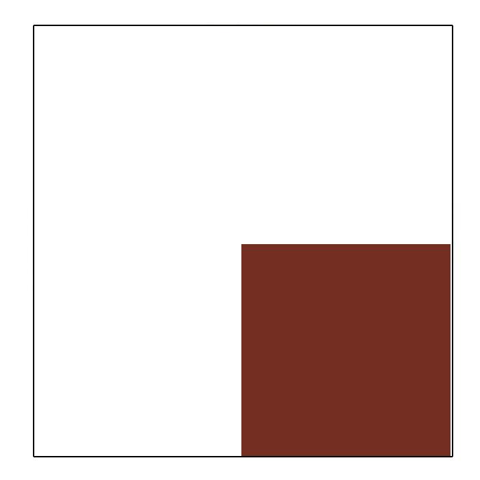 Weiß / Braun