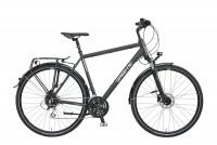 Greens Trekkingrad Kensington 24-Gang schwarz matt