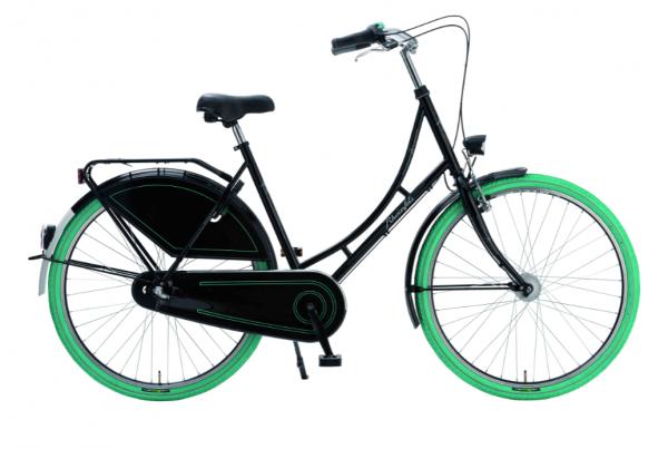 Rheinfels Eco Nostalgia schwarz- grüne Reifen