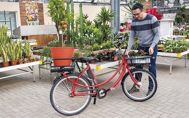 Lastenrad für das Handwerk