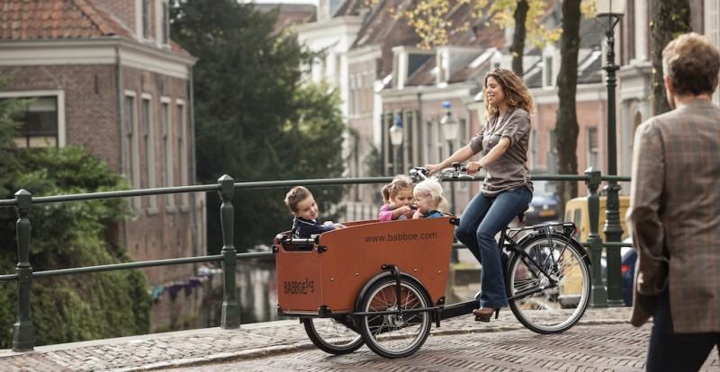 Babboe Lastenräder für die ganze Familie
