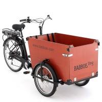 Babboe DOG-E Lasten E-Bike Buche 450 Wh