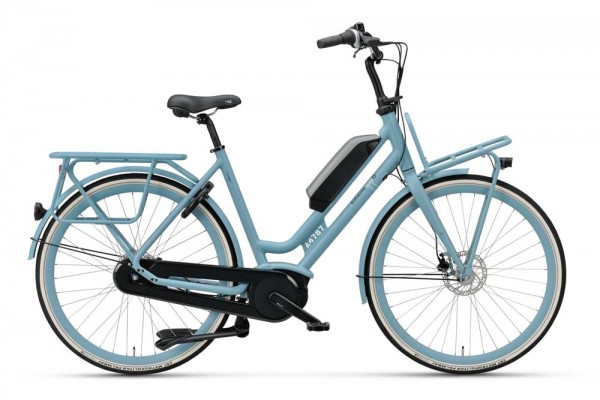 Batavus E-Bike Quip E-go 400 7-Gang Damen blau matt