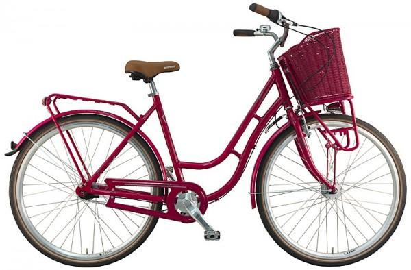 Hollandrad Damen 7-Gang pink