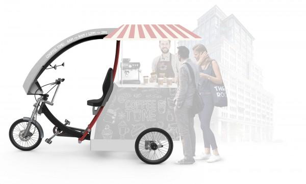 Yokler K Bike Kaffee-Fahrrad Promotion Coffee