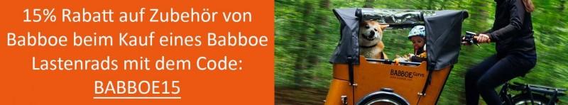 Babboe15 Aktion Zubehör