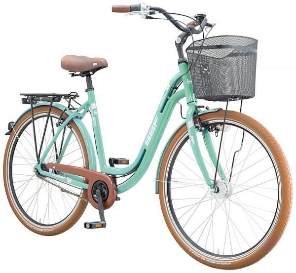 BBF NAPOLI Fahrrad 7 Gang mint 50 cm B Ware