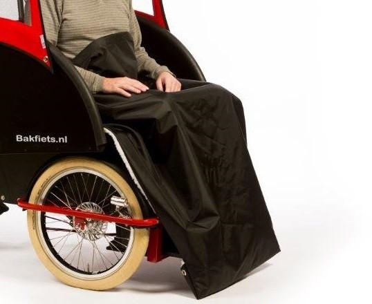 Bakfiets Rikscha Decke für Beine