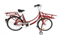 Cargobike Transport Fahr-Rad rot