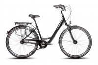 28 Zoll AluCity Fahrrad 7 Gang gefedert mit Nabedynamo