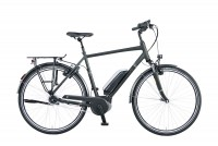 Greens E-Bike Ashford 8-Gang schwarz matt