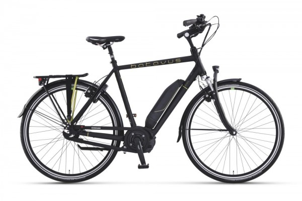 Batavus E-Bike Senero E-go® 500 8-Gang schwarz / cypres matt