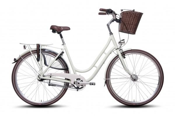 28 Zoll Alu Damen City Fahrrad Shimano 7 Gang Nexus Nabendynamo