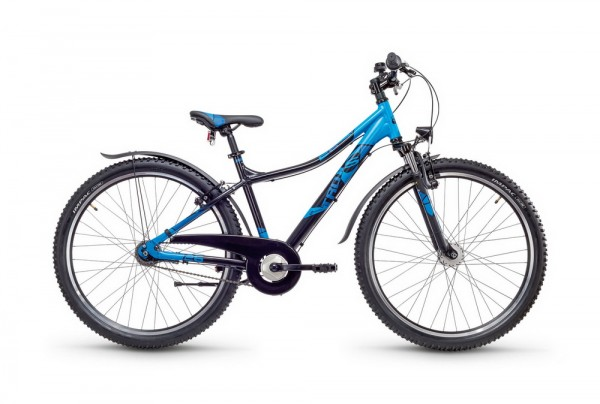 Kinderfahrrad S'Cool troX urban 26 Zoll 7 Gang MTB - black blue matt